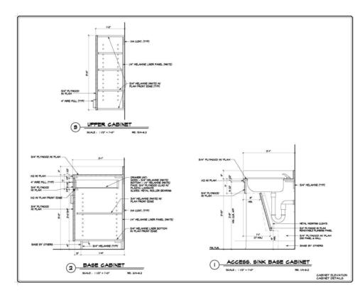 Millwork Shop Drawing1